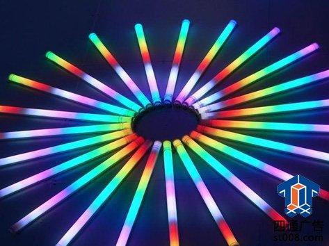 一只led霓虹灯接线图